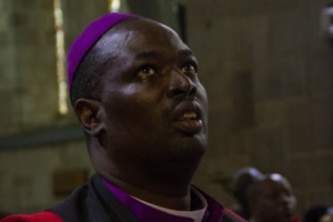 """Archbishop Jackson Ole Sapit says that the Anglican Church of Kenya is promoting """"peaceful and orderly elections""""."""