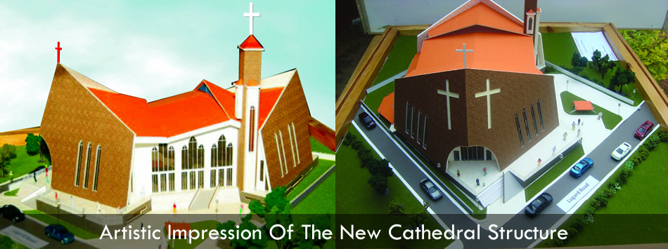 Artistic Impression of New Cathedral Building