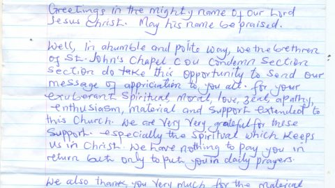 Luzira Prison Inmates Appreciation Note ii0001