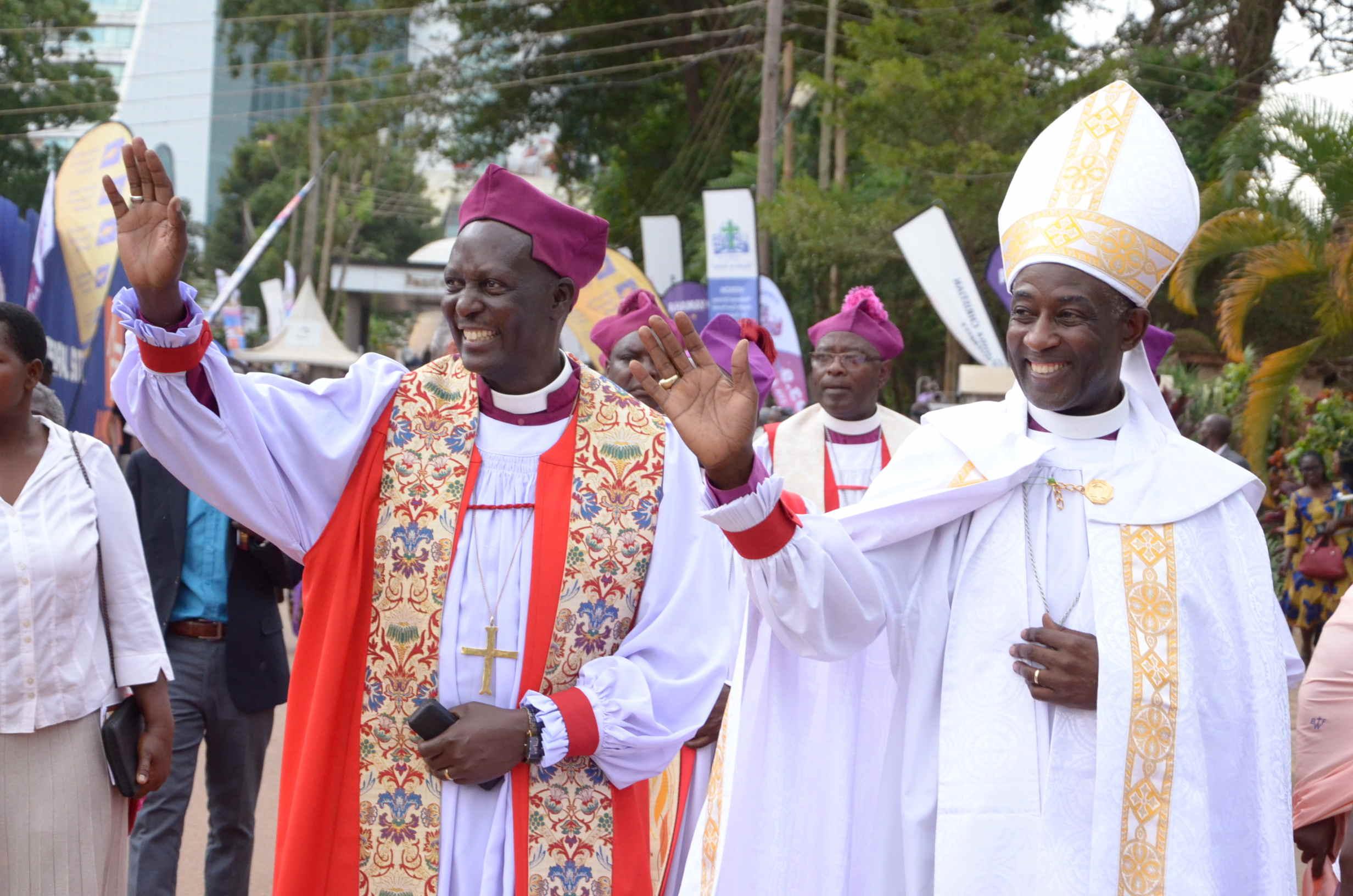 Diocese of Kampala enthrones Bishop Kaziimba
