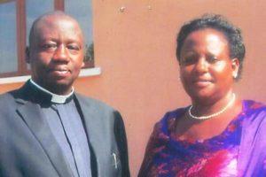 Bishop-Elect Johnson Twinomujuni and his wife, Joy