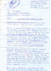 Luzira Prison Inmates Appreciation Note ii0001